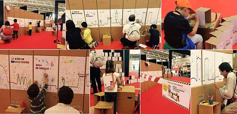 Arquikids un espacio interactivo pensado tanto para los más chicos así como para toda la familia estudiantes y profesionales interesados en compartir un momento creativo