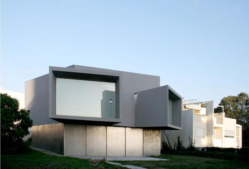 casa manoel de oliveira by eduardo souto de moura in porto portugal 2003