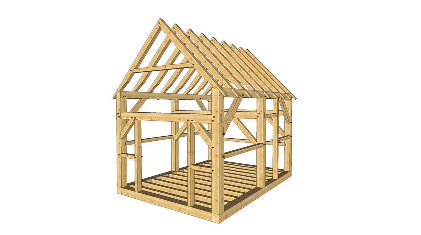 El entramado de madera ahora es construcción tradicional.   Guía de ...