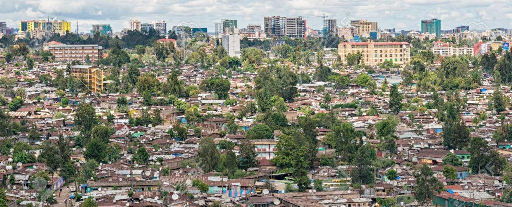 59041697 vista aérea de la addis abeba la capital de etiopía