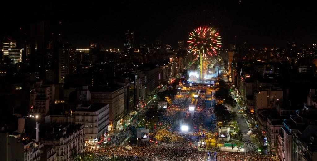 APERTURA JUEGOS OLIMPICOS DE LA JUVENTUD BUENOS AIRES 2018 11