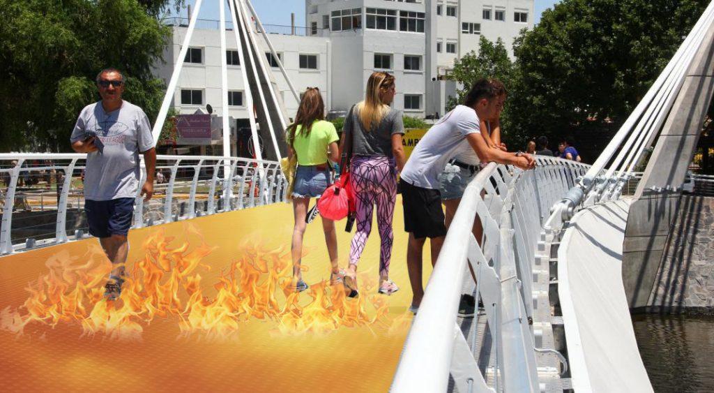 puente fuego