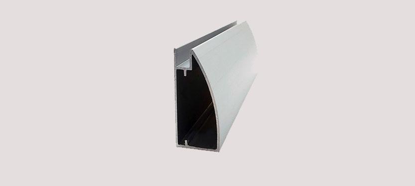 Perfil de Aluminio Alacena Curvo