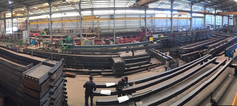 Estructura metálica en perfiles de acero