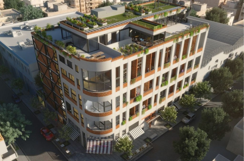 IDERO Arquitectura. Edificio El Industrial Combinacion con sistemas semi industrializados mayor flexibilidad 4.542m2